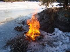 I made fire!